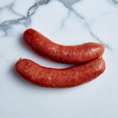 Thick Beef Sausages (4 sausages approx. 500g total)